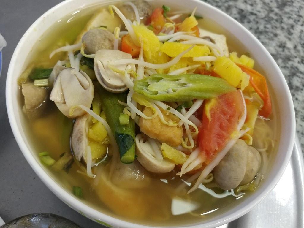 các món ăn chay từ nấm - canh chay nấm