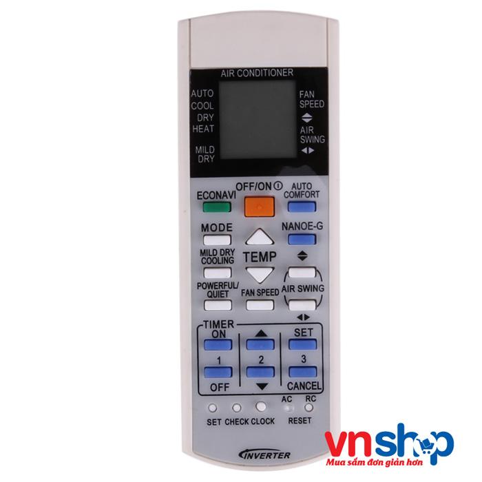 Cách dùng điều khiển điều hòa Panasonic Inverter