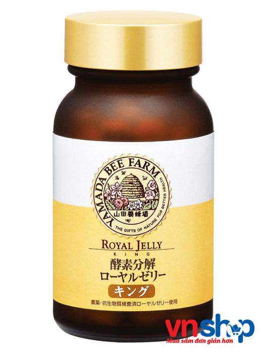 Sữa ong chúa Nhật Bản Yamada Bee Farm Royal Jelly 100 viên