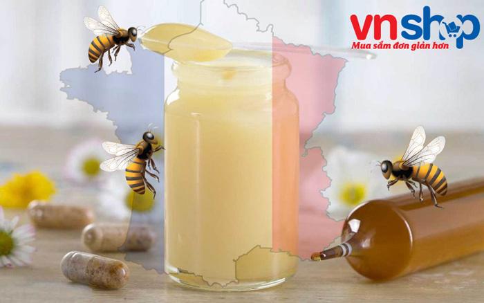 3 loại sữa ong chúa Pháp hàng đầu tại Việt Nam