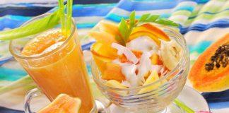 Hướng dẫn cách làm sinh tố đu đủ sữa chua đơn giản tại nhà
