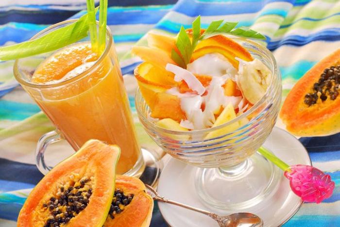 Cách làm kem đu đủ thơm ngon cực kỳ bổ dưỡng