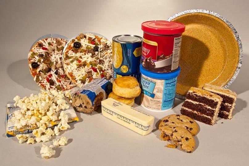 đồ ăn chứa trans fat